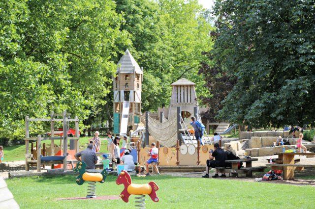 Spieplatz im Sauerpark